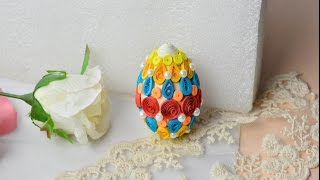 Making Quilling Easter Eggs