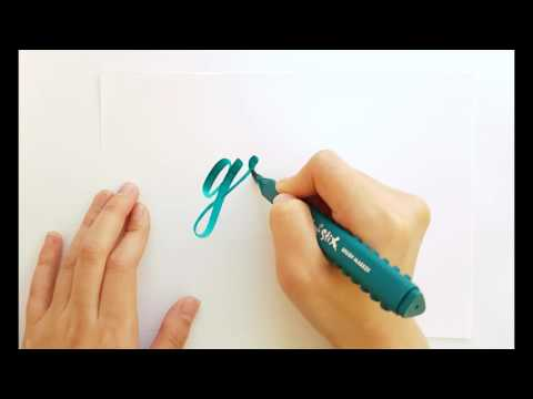 Artline stix Brush Pen