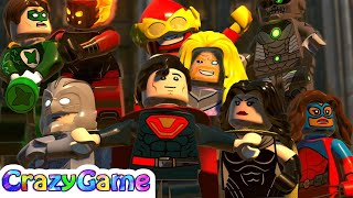 LEGO DC Super Villains Gameplay Walkthrough Part 2 (4K)   CRAZYGAMINGHUB
