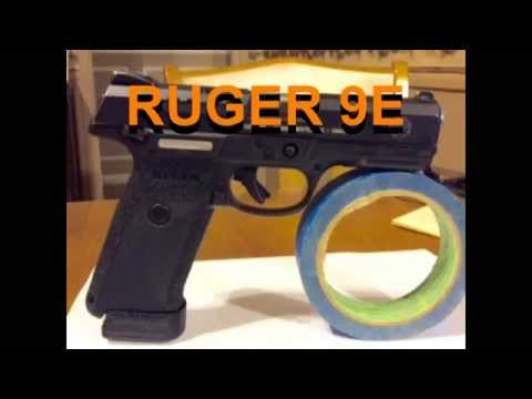 Ruger 9e modifications - YouTube