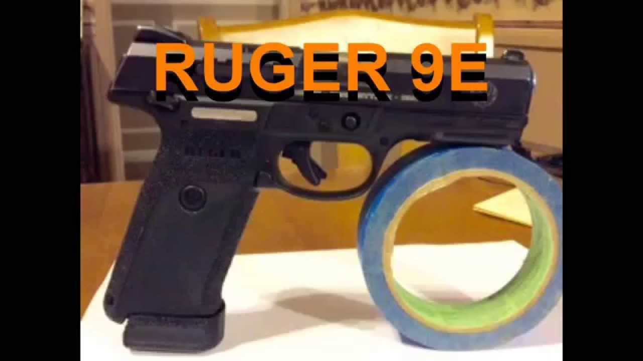 Ruger 9e modifications