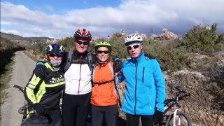 BiciRuta Viver - El Molinar, 28-02-2016.