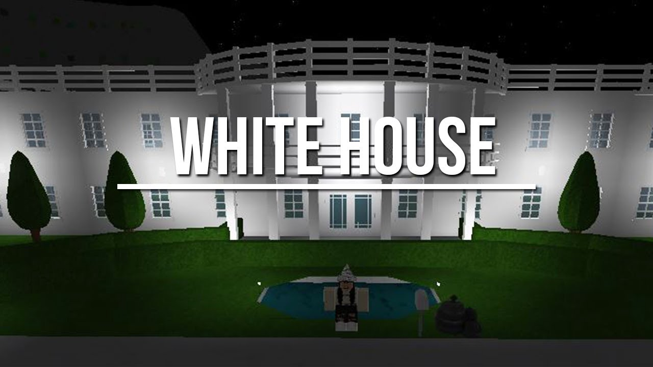 Roblox Welcome To Bloxburg White House 47k Youtube