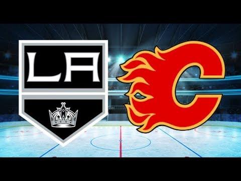 Los Angeles Kings vs Calgary Flames (2-1 OT) – Jan. 24, 2018   Game Highlights   NHL 2018