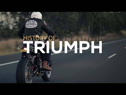 History of Triumph Motorcycles | Motorcycle Diaries