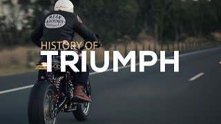 History of Triumph Motorcycles   Motorcycle Diaries