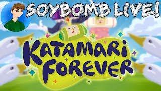 Katamari Forever (PlayStation 3) - Part 2 | SoyBomb LIVE!