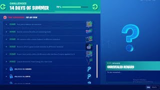 FORTNITE 14 DAYS OF SUMMER DAY 11 CHALLENGE! NEW FREE ITEMS!