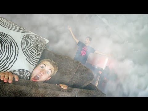 HIDE AND SEEK in SMOKE FILLED HOUSE *CAN NOT SEE*