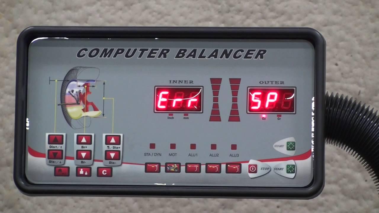 troubleshooting wheel balancer error codes youtube rh youtube com