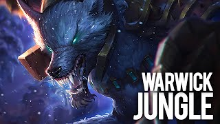 Tundra Hunter Warwick - Jungle - Full Gameplay Commentary