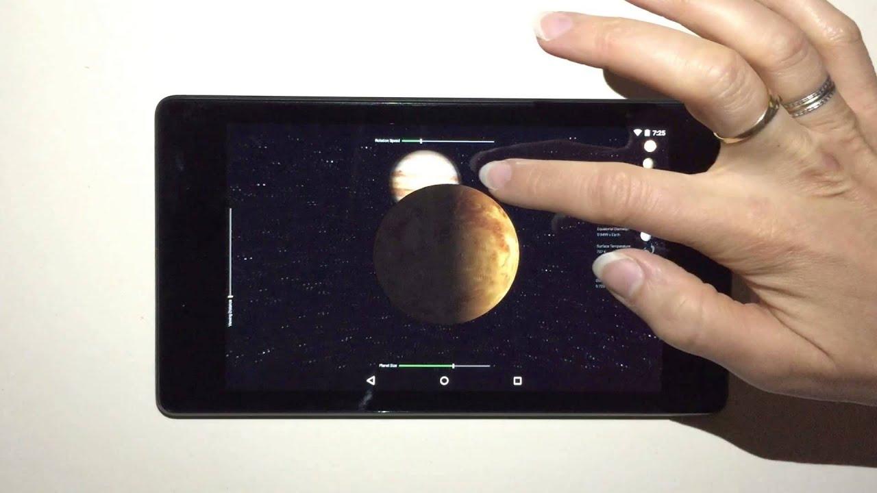 Qt 5 5 - 3D Planets Example