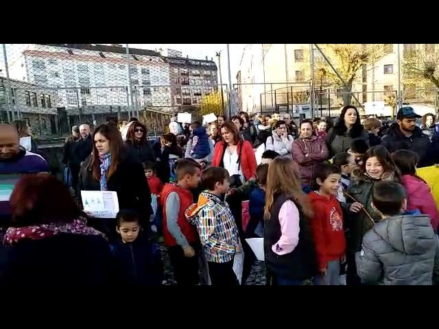 Protesta en A Escardia