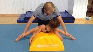 Основные упражнения для растяжки. Как растягиваются акробаты?