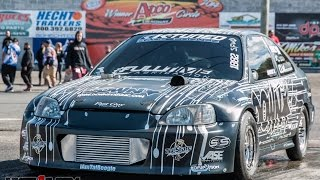 Nyce1s - Fast Guy Racing SFWD Turbo Civic At Hday Atco 2015.....