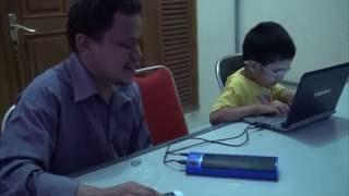 Kursus Komputer Bicara untuk tunanetra di Yayasan Mitra Netra