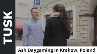 Client Ash's First International Daygame Experience In Krakow, Poland