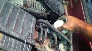 how to check all the fluids on a 1986 to 2005 mitsubishi
