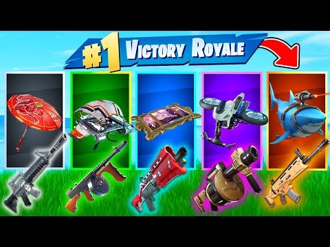 The *RANDOM* GLIDER SKIN Challenge In Fortnite Battle Royale!