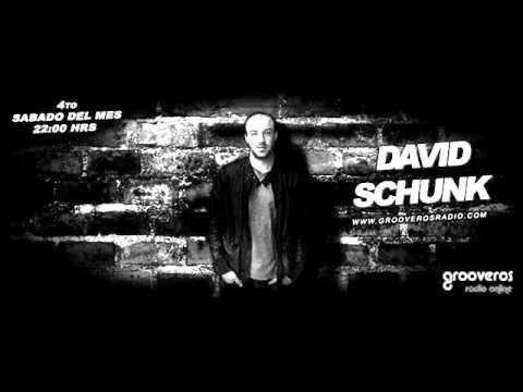 David Schunk@Grooveros Radio (Montevideo Uruguay) -Podcast Nº1