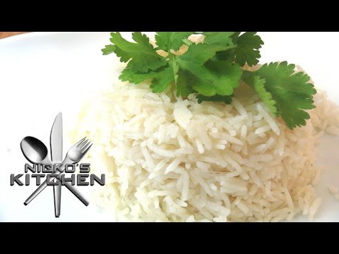 How to cook perfect Rice - Video Recipe