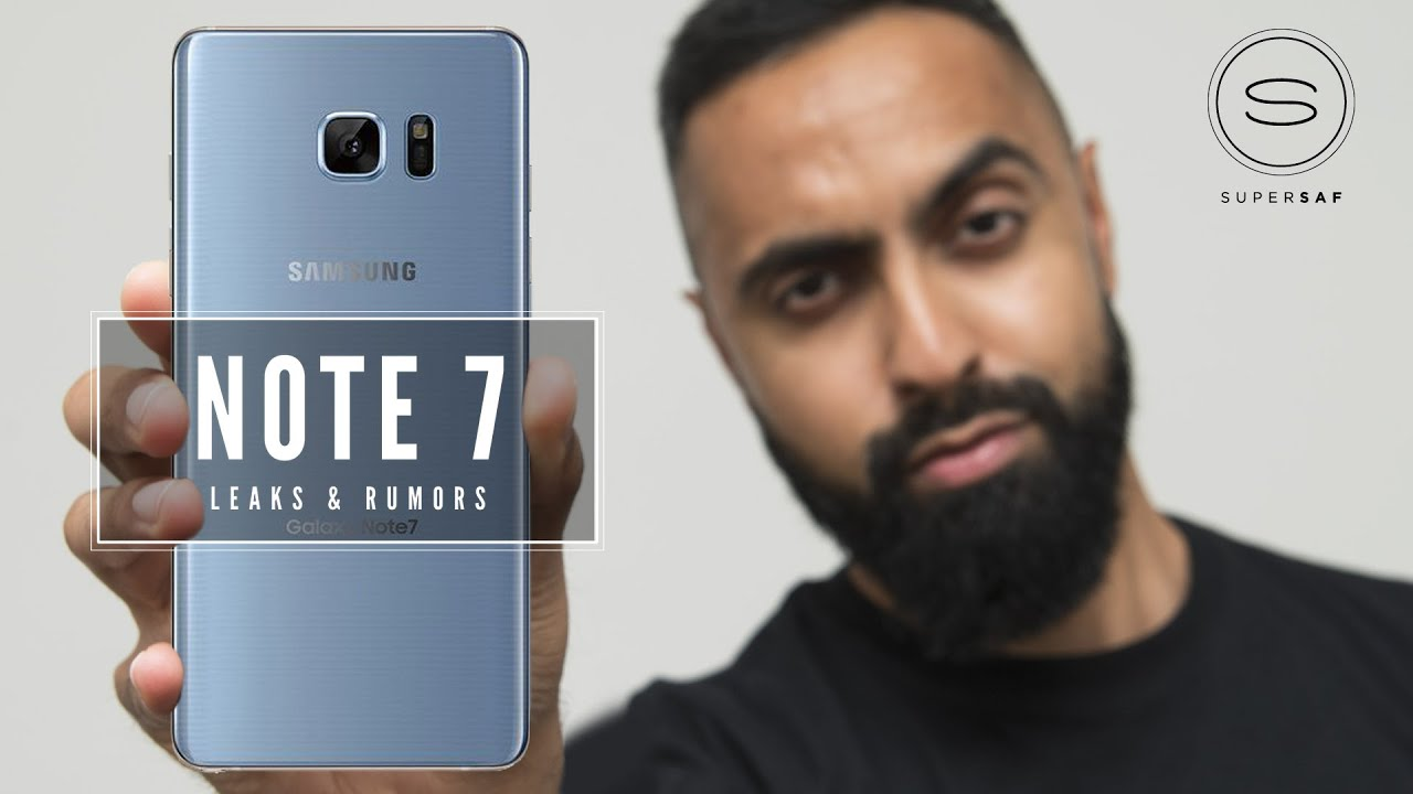 NEW Samsung Galaxy Note 7 - FINAL Leaks & Rumors