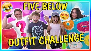 FIVE BELOW OUTFIT CHALLENGE | We Are The Davises