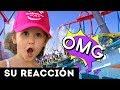 REACCIÓN DE ERIKA EN LA MONTAÑA RUSA | ABANDONADOS EN LA CARRETERA 😱 AYUDA!!! | Yippee Family