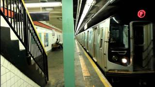 ind r160 f and nis e train at 169th street hillside avenue
