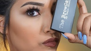 35 DOLLAR EYEBROWS - THE BROWGAL The Convertible Brow Palette Review + Demo