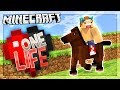 JOEY'S GREAT HORSE ADVENTURE! | One Life SMP #8