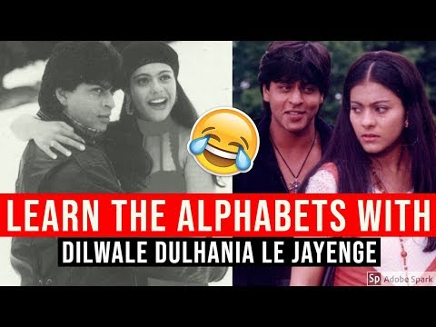 learn-the-alphabet-with-dilwale-dulhania-le-jayenge!🤣