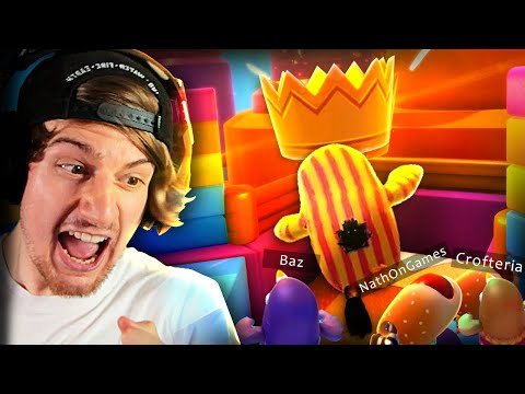 THE CRAZIEST BR GAME EVER (& It's Awesome) || Fall Guys: Ultimate Knockdown