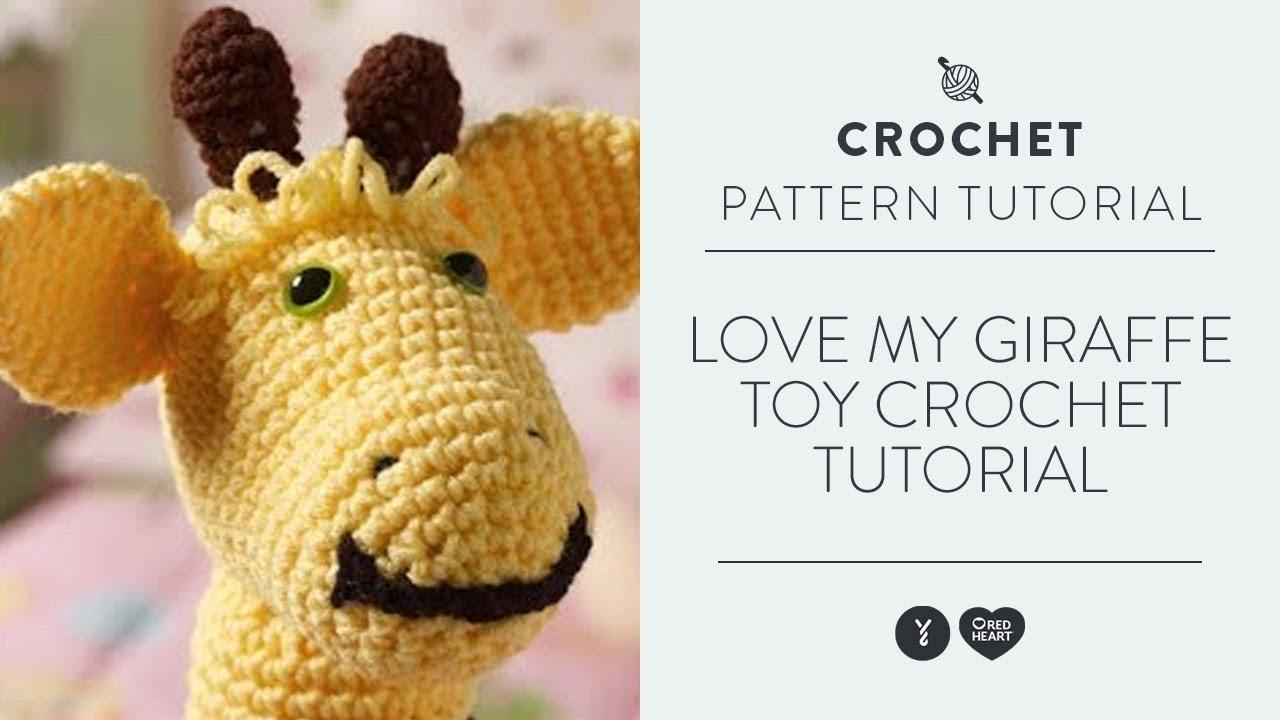 Hearty Giraffe amigurumi pattern - Amigurumi Today | 720x1280