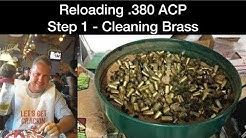Reloading .380 ACP - Cleaning Brass