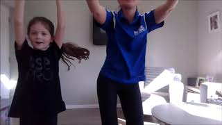 PASS HOME LEARNING   AFTERNOON DANCE   SARAH  KOUKOU