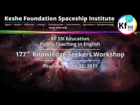 177th Knowledge Seekers Workshop, June 22, 2017