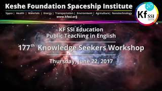 Video 177th Knowledge Seekers Workshop, June 22, 2017 download MP3, 3GP, MP4, WEBM, AVI, FLV Desember 2017