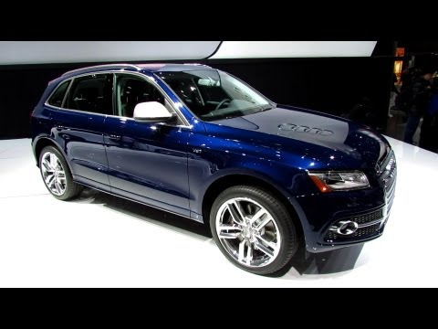 2014 Audi SQ5 - Exterior and Interior Walkaround - 2013 Detroit Auto Show