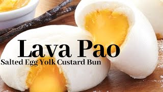 Lava Pao Chinese Bun Food Review  VLOG 00040