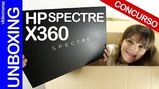 HP Spectre x360 unboxing y CONCURSO -el Macbook de los Windows-