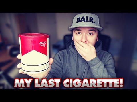 Smoking My LAST Cigarette!