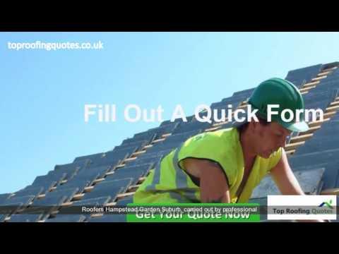 Roofing Companies Hampstead Garden Suburb