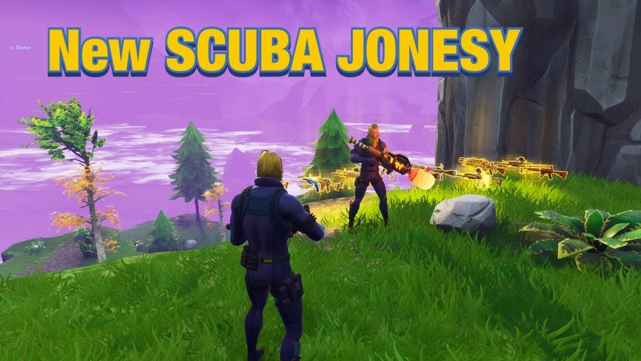 New SCUBA JONESY Scam is Mythic! 🤿 (Scammer Gets Scammed) Fortnite Save The World
