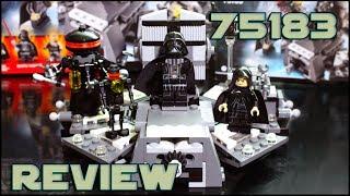 Lego Star Wars 75183 Darth Vader Transformation Review | Обзор на Лего Трансформация Дарта Вейдера