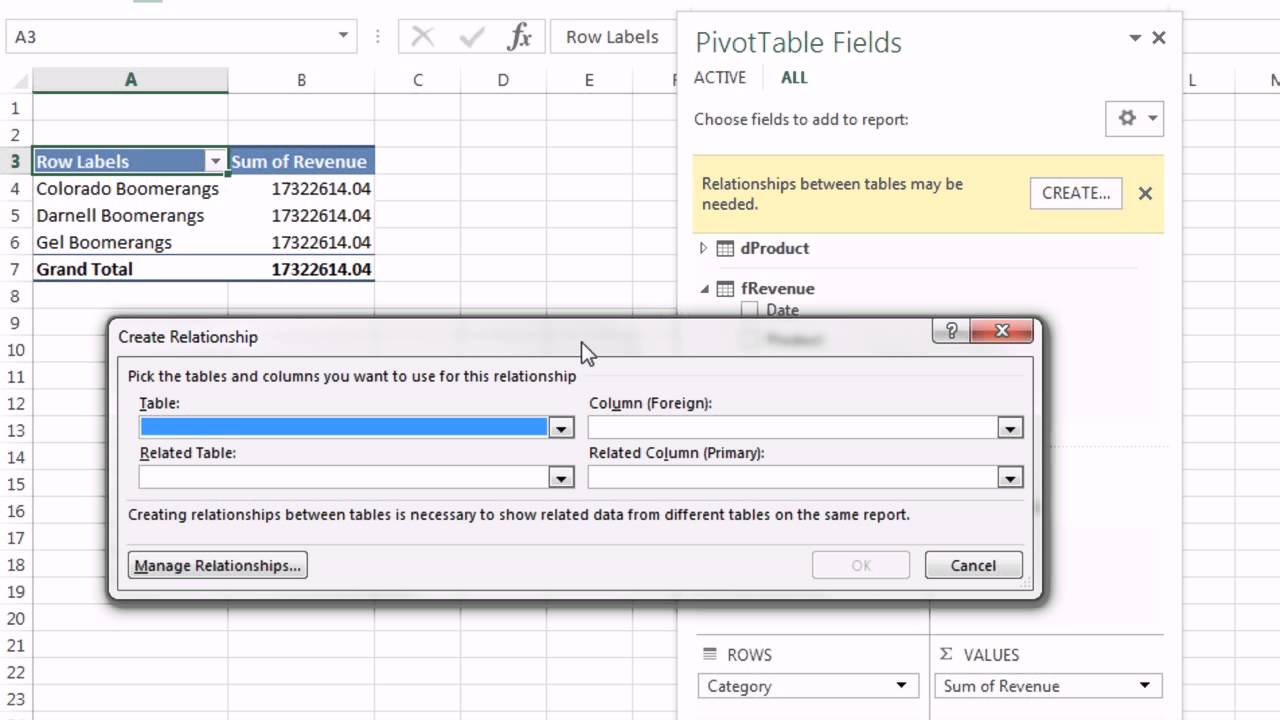 Excel magic trick 1151 get two tables into pivot table field list excel magic trick 1151 get two tables into pivot table field list using excel 2013 gamestrikefo Choice Image