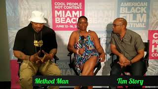 TwinKonnections: Chatting About The New SHAFT Movie With Tim Story & Method Man At The 2019 ABFF