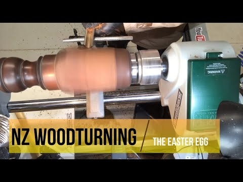 MAKING AN EASTER EGG FROM A TABLE LEG!