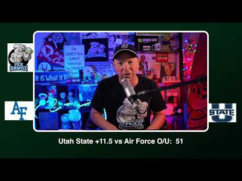 Utah State vs Air Force 12/3/20 Free College Football Picks and Predictions CFB Tips
