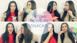 TRYING MEXICAN SNACKS W/YASMIN♡